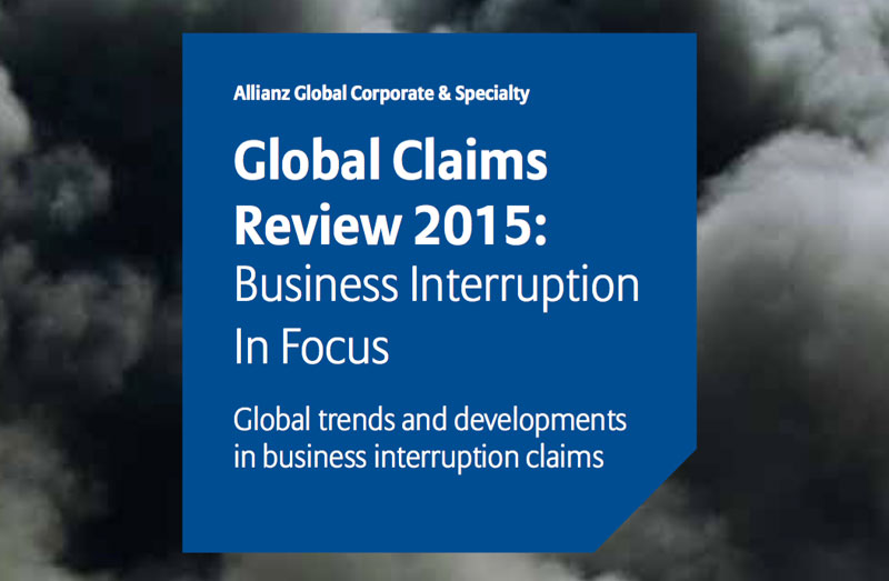Global Claims Review 2015: Business Interruption In Focus